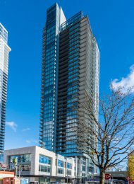 Brand New Unfurnished 2 Bedroom Apartment Rental at Station Square in Metrotown. 3308 - 4670 Assembly Way, Burnaby, BC, Canada.