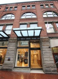 Greenshields 1 Bedroom Unfurnished Apartment Rental in Gastown, Vancouver. 501 - 345 Water Street, Vancouver, BC, Canada.