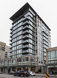 3rd Floor Unfurnished 1 Bedroom Apartment Rental at The Zone in Westside Vancouver. 303 - 1068 West Broadway, Vancouver, BC, Canada.