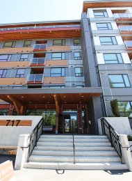 Brand New 1 Bedroom & Den Apartment Rental at The Simon in Coquitlam. 307 - 717 Breslay Street, Coquitlam, BC, Canada.