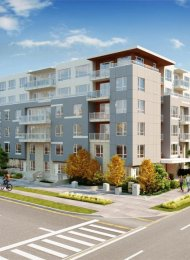 Brand New Ground Level 1 Bedroom Apartment Rental at HQ Thrive in Whalley, Surrey. 104 - 10581 140 Street, Surrey, BC, Canada.