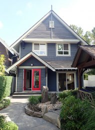 Unfurnished 3 Bed House Rental on The Fraser River in Queensborough, New West. 109 Fairweather Lane, New Westminster, BC, Canada.