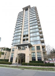 Luxury Fully Furnished 2 Bed & Solarium Apartment Rental at Lumiere in Coal Harbour. 1402 - 1863 Alberni Street, Vancouver, BC, Canada.