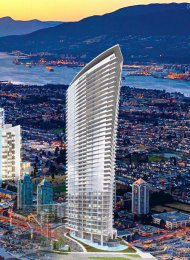 Brand New Luxury 2 Bedroom Apartment Rental at Escala in Brentwood. 502 - 1788 Gilmore Avenue, Burnaby, BC, Canada.