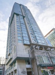 1 Bedroom & Solarium Apartment Rental at Conference Plaza in Downtown Vancouver. 1105 - 438 Seymour Street, Vancouver, BC, Canada.