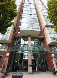 The Pinnacle Unfurnished Studio Rental With Den & Solarium in Yaletown. 2301 - 939 Homer Street, Vancouver, BC, Canada.