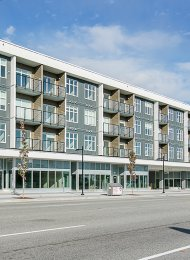 Modern 2 Bedroom Unfurnished Apartment For Rent at Pixel in Edmonds, Burnaby. 328 - 6283 Kingsway Street, Burnaby, BC, Canada.