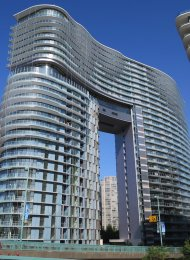 Brand New Modern 1 Bedroom Apartment Rental at The Arc in Yaletown, Vancouver. 1608 - 89 Nelson Street, Vancouver, BC, Canada.