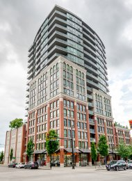Unfurnished 2 Bedroom Apartment Rental at Interurban in New Westminster, Quay. 304 - 14 Begbie Street, New Westminster, BC, Canada.