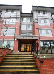 Amanti on Welcher Unfurnished Studio Rental in Central Port Coquitlam. 306 - 2288 Welcher Avenue, Port Coquitlam, BC, Canada.