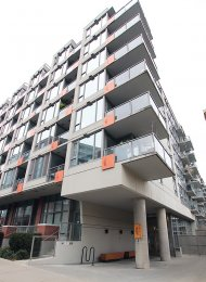 City & Mountain View 2 Bed Apartment Rental at District in Mount Pleasant, East Vancouver. 708 - 251 East 7th Avenue, Vancouver, BC, Canada.