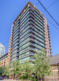 Richards 1 Bedroom & Flex Unfurnished Apartment Rental in Yaletown, Vancouver. 508 - 1088 Richards Street, Vancouver, BC, Canada.
