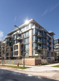 Unfurnished 1 Bedroom & Den Apartment Rental at 2033 West 10th in Kitsilano. 712 - 2033 West 10th Avenue, Vancouver, BC, Canada.