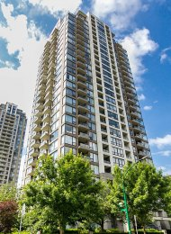 18th Floor City View 2 Bedroom Apartment Rental at Arcadia in Highgate, Burnaby. 1805 - 7178 Collier Street, Burnaby, BC, Canada.