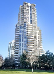 Huge 24th Floor 3 Bedroom Apartment Rental at Fresco in Brentwood, Burnaby. 2401 - 2088 Madison Avenue, Burnaby, BC, Canada.