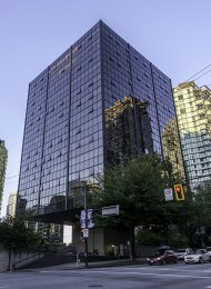 Unfurnished Studio For Rent at The Qube in Coal Harbour, Vancouver. 413 - 1333 West Georgia Street, Vancouver, BC, Canada.