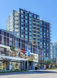 Unfurnished 1 Bedroom Apartment Rental at Cadence in Brighouse, Richmond. 806 - 7468 Lansdowne Road, Richmond, BC, Canada.