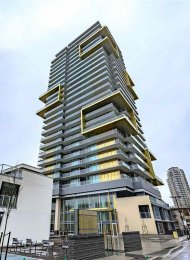 Brand New 24th Floor 1 Bed & Den Apartment Rental at Gold House in Metrotown, Burnaby. 2402 - 6288 Cassie Avenue, Burnaby, BC, Canada.