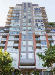 Modern 1 Bedroom Apartment Rental With Balcony, Flex & Solarium at H&H in Yaletown. 703 - 1133 Homer Street, Vancouver, BC, Canada.