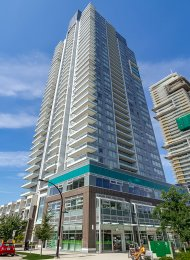 Modern 16th Floor City View 1 Bedroom Apartment Rental at Silver in Metrotown, Burnaby. 1603 - 6333 Silver Avenue, Burnaby, BC, Canada.