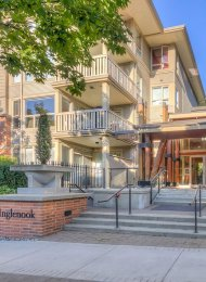 Inglenook Ground Level Unfurnished 2 Bedroom Apartment For Rent in Port Moody Centre. 127 - 801 Klahanie Drive, Port Moody, BC, Canada.