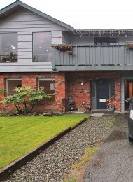 Unfurnished 2 Bedroom Ground Level of House Rental in Roche Point, North Vancouver. 422 Felton Place, North Vancouver, BC, Canada.