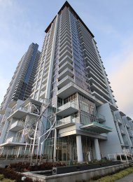 Lumina Starling Brand New City View 1 Bedroom Apartment Rental in Brentwood, Burnaby. 1807 - 2351 Beta Avenue, Burnaby, BC, Canada.