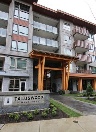 Taluswood at Timber Court Brand New 2 Bedroom Apartment Rental in Lynn Valley, North Vancouver. 508 - 2663 Library Lane, North Vancouver, BC, Canada.
