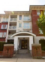 Emerson 2nd Floor 1 Bedroom & Den Unfurnished Apartment Rental in Coquitlam West. 209 - 618 Como Lake Avenue, Coquitlam, BC, Canada.