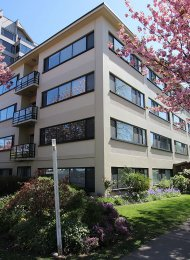 Aish Place 3rd Floor Unfurnished 2 Bedroom Apartment Rental in Kerrisdale, Westside Vancouver. 301 - 5926 Yew Street, Vancouver, BC, Canada.