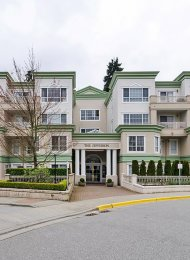 The Jefferson Ground Level 1 Bedroom Unfurnished Apartment Rental in Canyon Springs, Coquitlam. 104 - 2960 Princess Crescent, Coquitlam, BC, Canada.