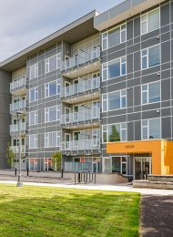 Brand New 2nd Floor 1 Bedroom Apartment Rental at Maverick in Whalley, Surrey. 216 - 10838 Whalley Boulevard, Surrey, BC, Canada.