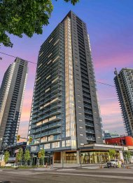 King George Hub Two Brand New 12th Floor 1 Bedroom Apartment Rental in Whalley, Surrey. 1207 - 13655 Fraser Highway, Surrey, BC, Canada.
