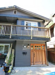 Unfurnished 2 Bedroom Garden Suite Rental in Maplewood, North Vancouver. 525B Riverside Drive, North Vancouver, BC, Canada.
