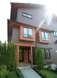 Nanaimo Heights Brand New Ground Level 1 Bedroom Townhouse For Rent in East Vancouver. 2406 East 28th Avenue, Vancouver, BC, Canada.