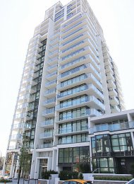 Brand New 11th Floor City View 1 Bed & Den Apartment Rental at Bordeaux in Brentwood, Burnaby. 1109 - 4488 Juneau Street, Burnaby, BC, Canada.