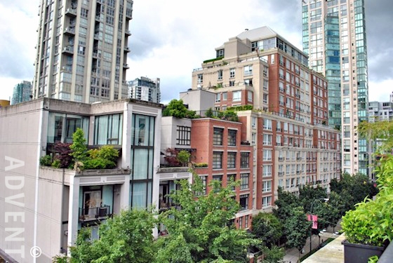 Alda Apartment Rental 605-1275 Hamilton St Vancouver: ADVENT