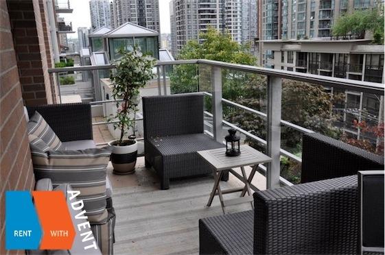 Apartment rental vancouver vita 565 smithe advent for Apartment terrace furniture