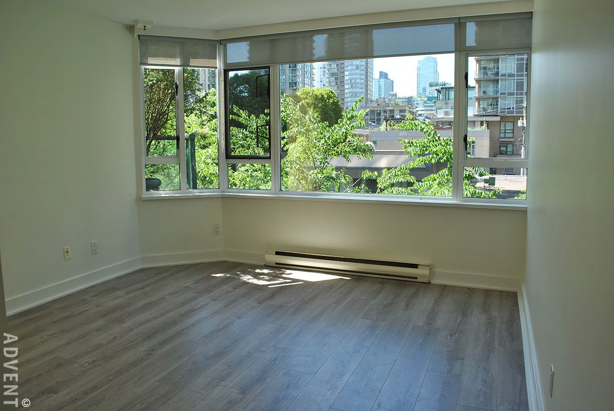 Rosedale Gardens 1 Bedroom Apartment For Rent In Downtown Vancouver 203 888 Hamilton Street