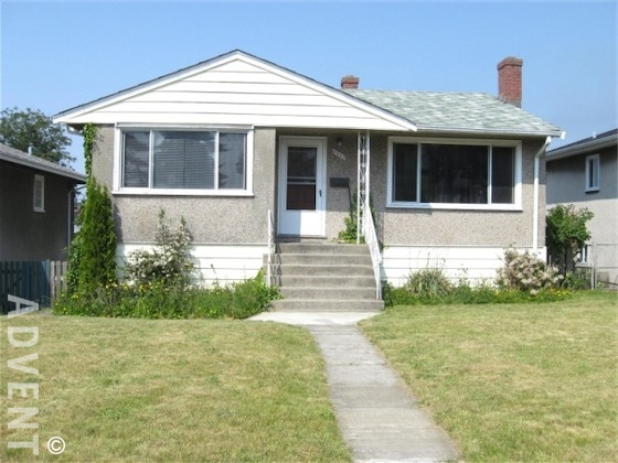 Unfurnished 2 Bedroom House For Rent In Killarney In East Vancouver. 6859  Killarney Street,