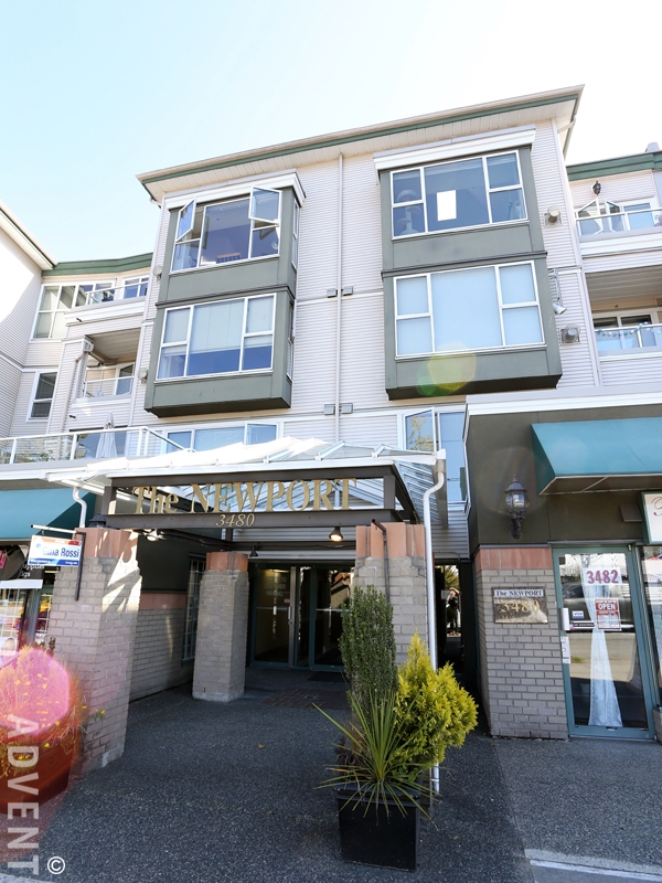 Great 1 Bedroom Apartment For Rent At The Newport In East Vancouver. 416   3480  Main