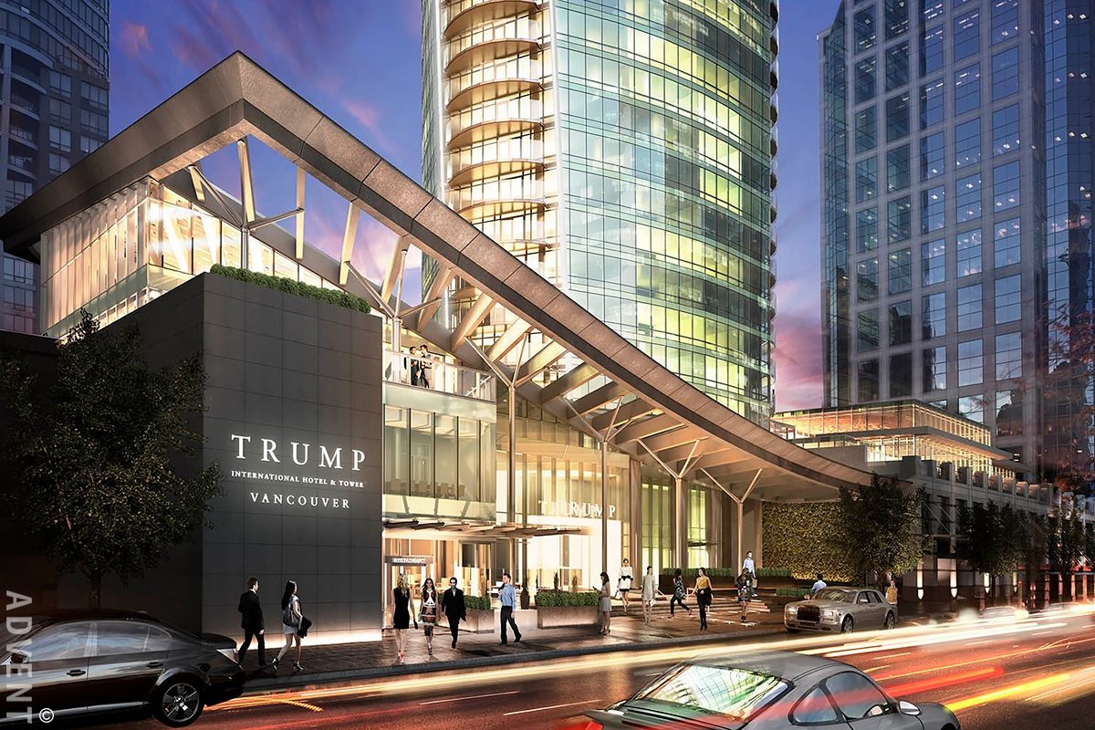 Trump Tower Apartment Rental 4002 1151 West Georgia St Vancouver