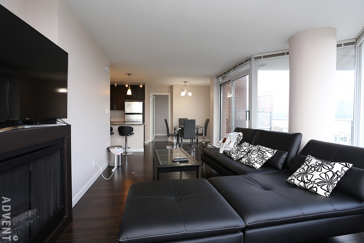 Furnished Luxury Apartment Rental At Firenze In Downtown Vancouver 2908 688 Abbott Street