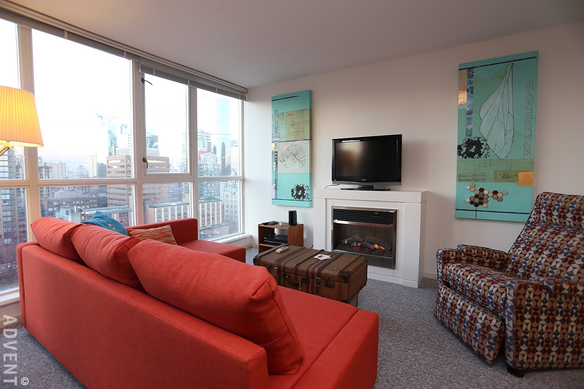 Brava furnished 1 bedroom apartment rental vancouver advent - One bedroom apartments vancouver ...