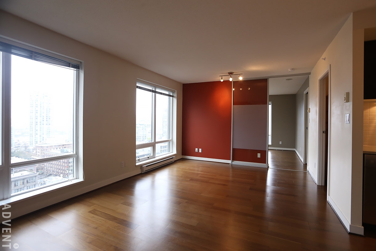 Domus apartment rental 1403 1055 homer st vancouver advent for Two bedroom apartment vancouver