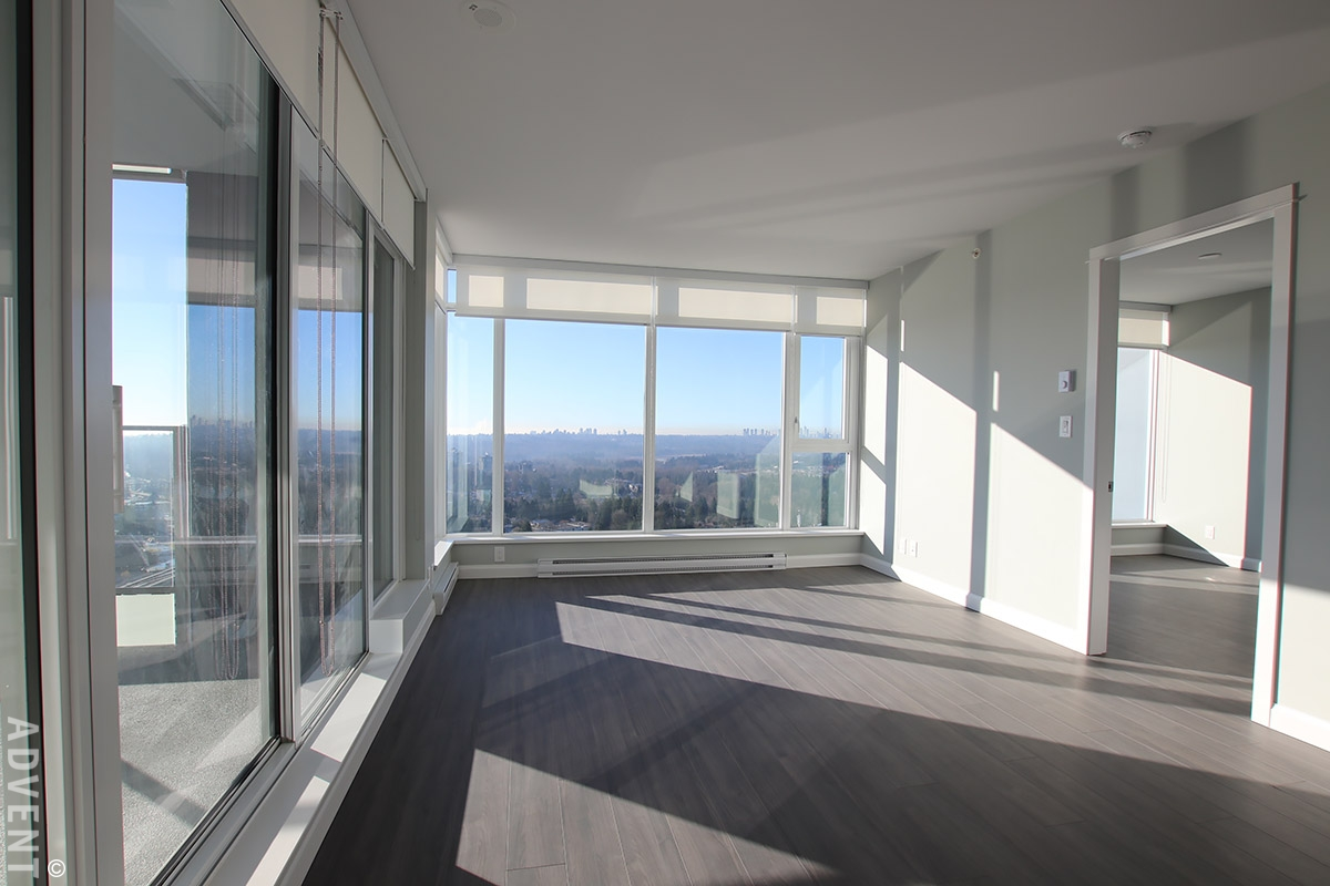 Unfurnished 2 Bedroom Apartment Rental At Crown In Coquitlam 2509 520 Como Lake Avenue