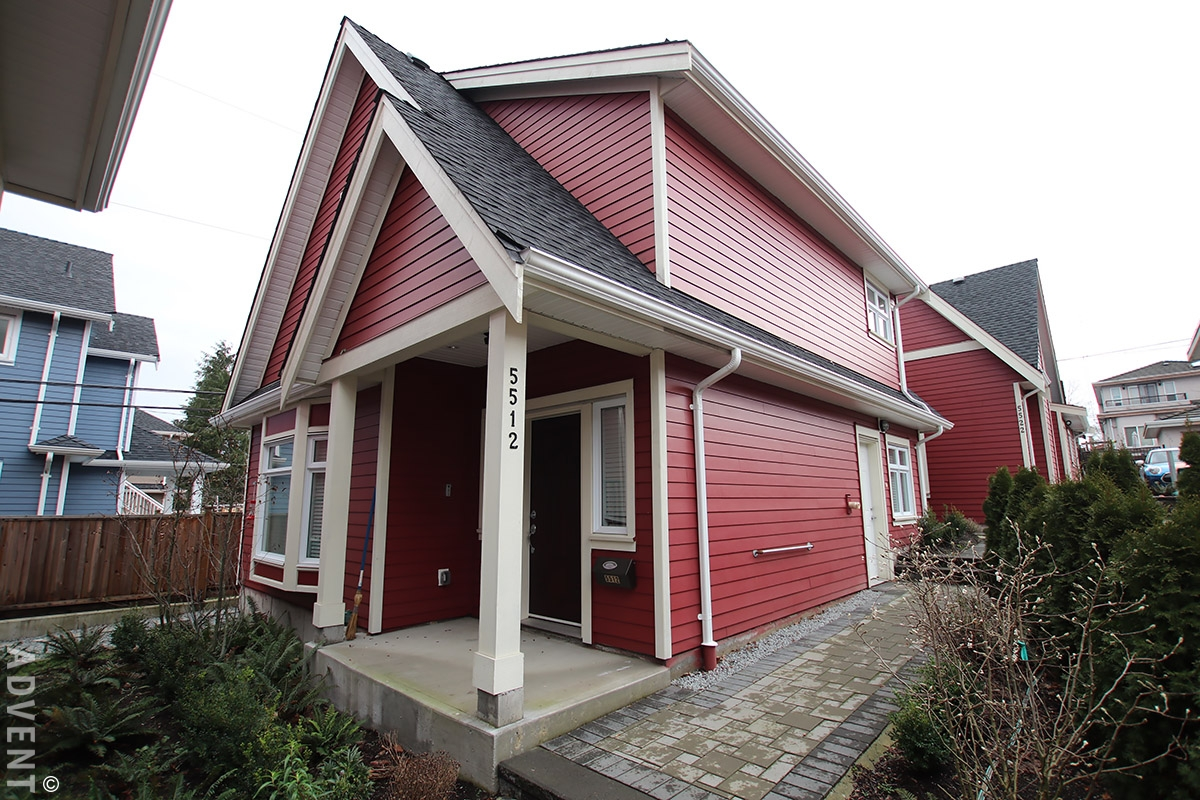 Bright And Modern 3 Bedroom House Rental In Collingwood East Vancouver 5512 Dundee Street