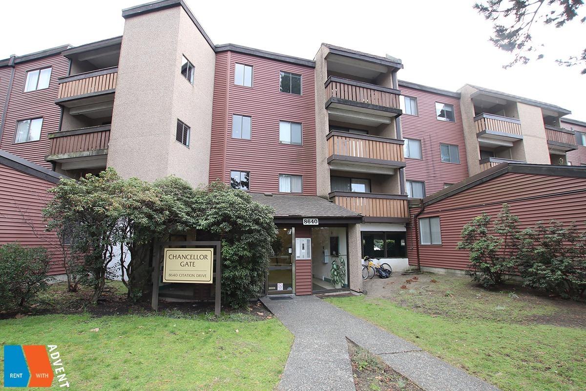 Chancellor Gate Apartment Rental 316 8640 Citation Richmond Advent