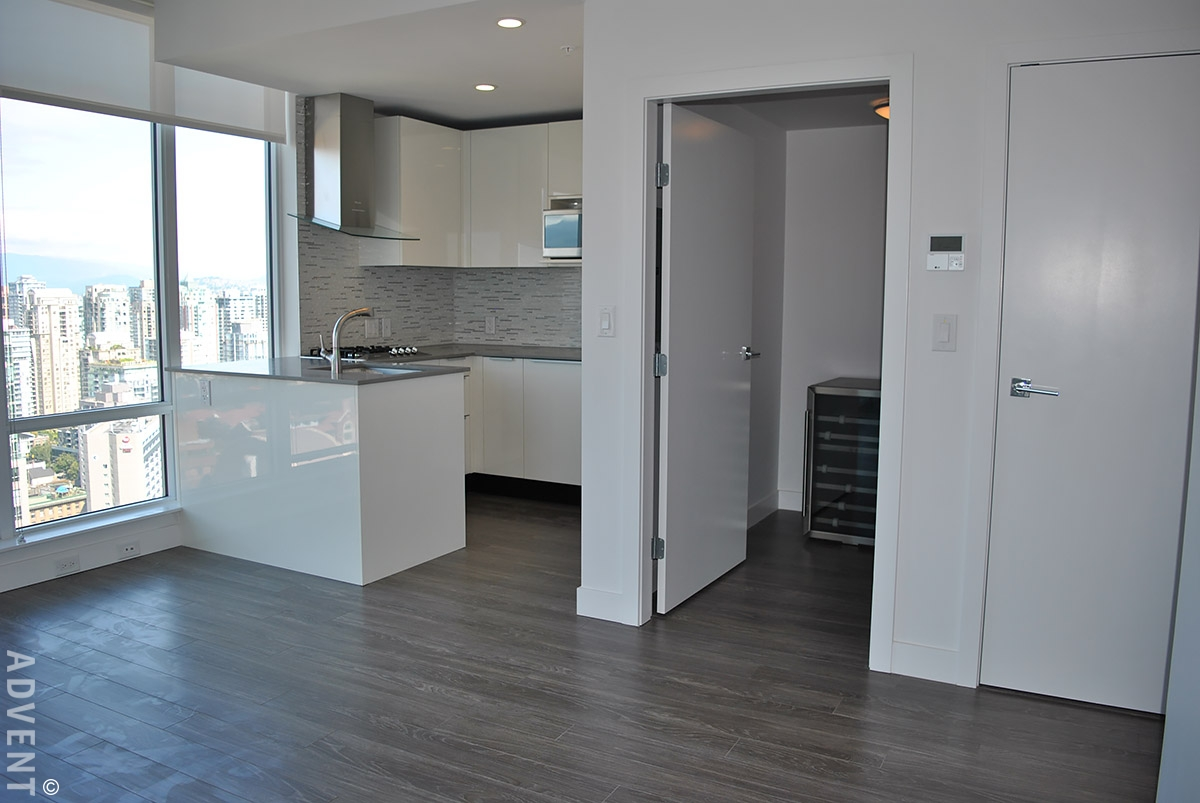 1 Bedroom Apartment For Rent Tate Downtown 3302 1283 Howe St Vancouver Advent