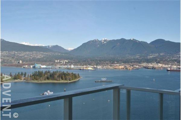 Fairmont Pacific Rim Estates Luxury Apartment For Rent in Coal Harbour. 4405 - 1011 West Cordova, Vancouver, BC.